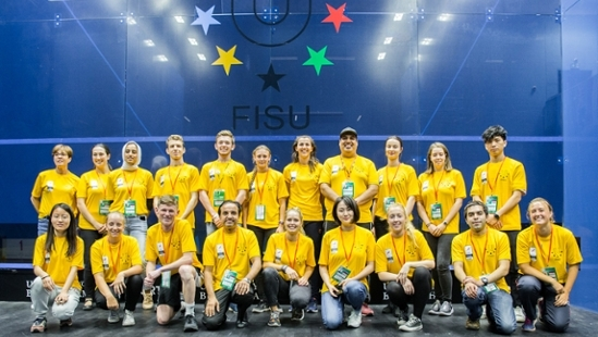 Volunteer at World University Championships