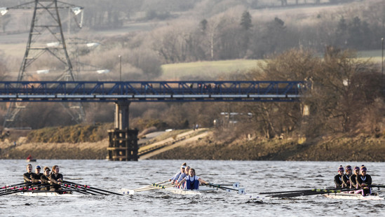 BUCS Rowing: 4s and 8s Head