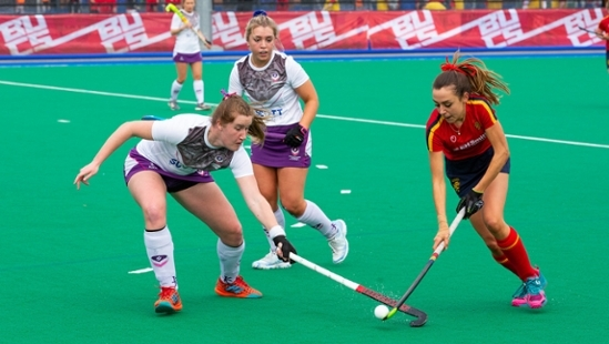 Intermediate Capital Group (ICG) sign as BUCS' new Women's Hockey Headline Partner