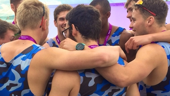 UK on top of rowing championships